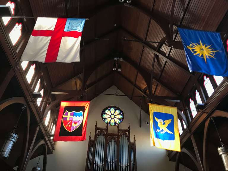 church-sanctuary-interior-flags